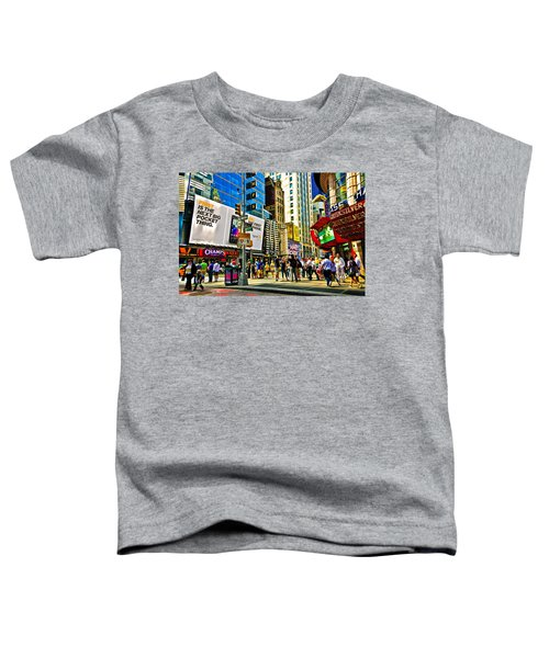 The Dirty Old City -nyc Toddler T-Shirt