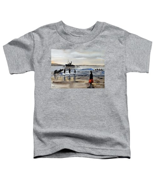 The Dun Aengus Off Aran, Galway Toddler T-Shirt