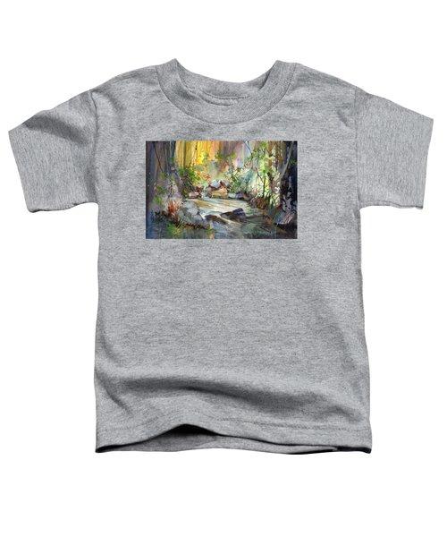 The Enchanted Pool Toddler T-Shirt