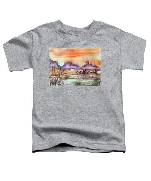 The End Of The Day 2 Toddler T-Shirt