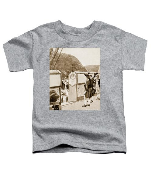 The Escape Of Arnold On The British Sloop Of War, Vulture  Toddler T-Shirt