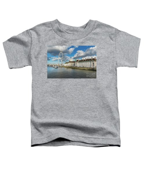 The Eye London Toddler T-Shirt by Adrian Evans