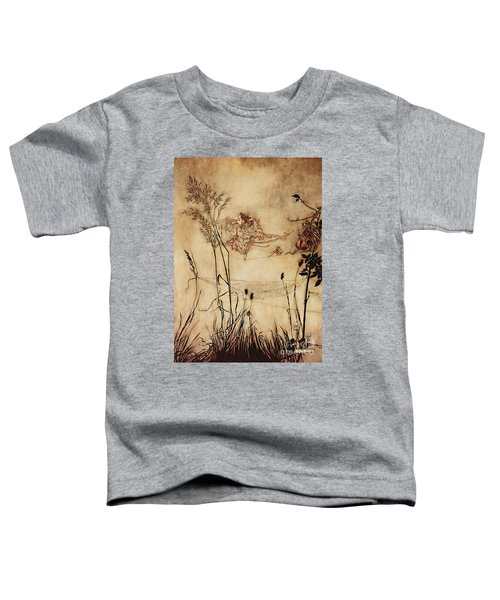 The Fairy's Tightrope From Peter Pan In Kensington Gardens Toddler T-Shirt