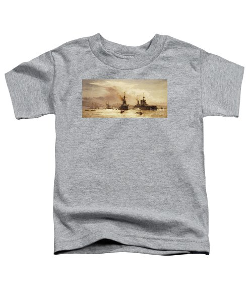 The First Battle Squadron Leaving The Forth For The Battle Of Jutland Toddler T-Shirt