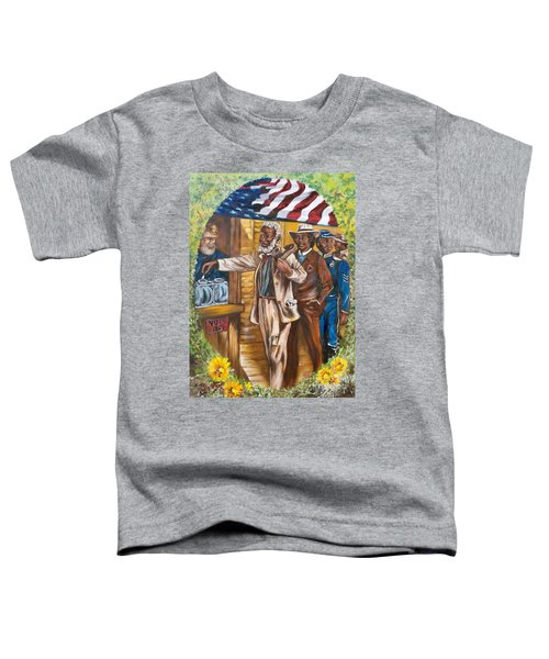 Historical  Artwork     First Vote - 1867 Toddler T-Shirt