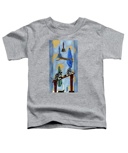 The Flying Frog Toddler T-Shirt