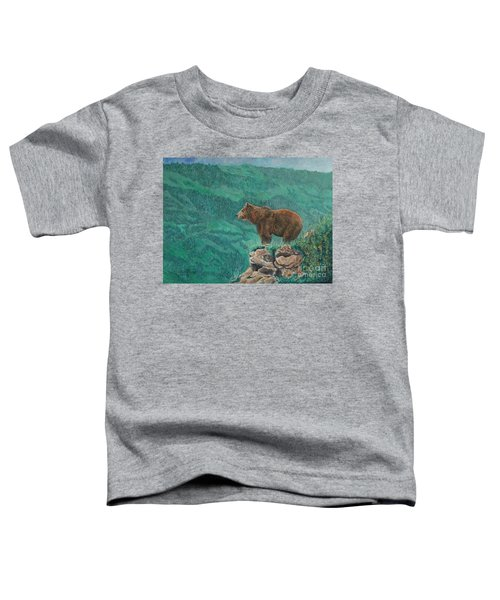 The Franklin Grizzly Bear Toddler T-Shirt