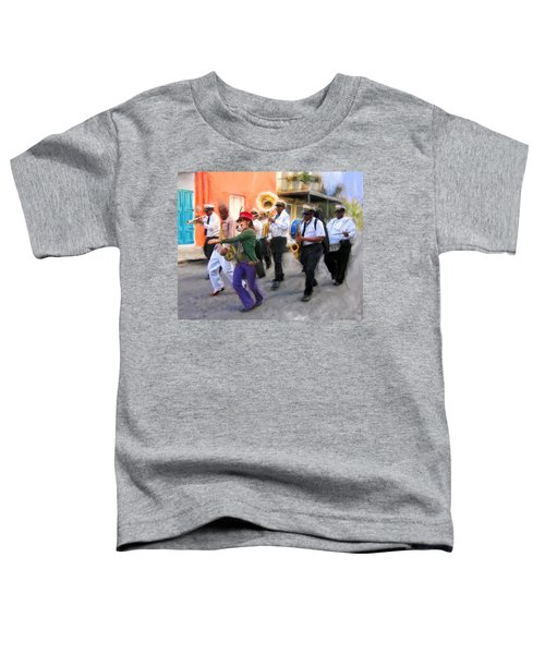 The French Quarter Shuffle Toddler T-Shirt