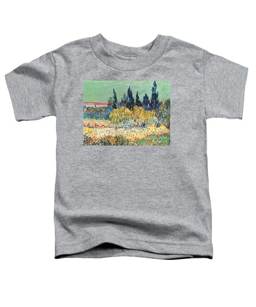 The Garden At Arles  Toddler T-Shirt