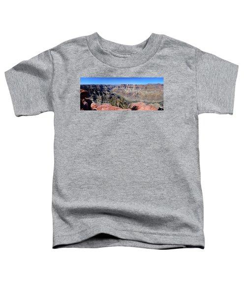 The Grand Canyon Panorama Toddler T-Shirt