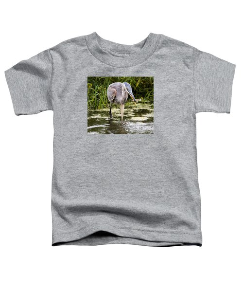 The Great Blue Heron Toddler T-Shirt