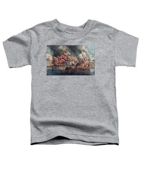 The Great Fight At Charleston  South Carolina Toddler T-Shirt