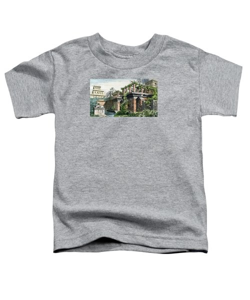 The Hanging Gardens Of Babylon Toddler T-Shirt