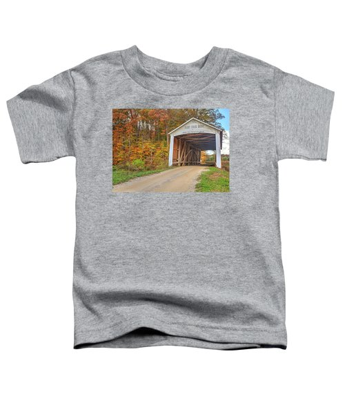 The Harry Evans Covered Bridge Toddler T-Shirt