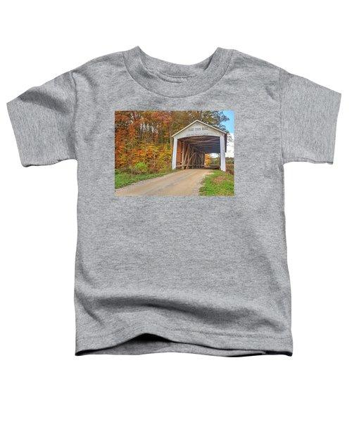 The Harry Evans Covered Bridge Toddler T-Shirt