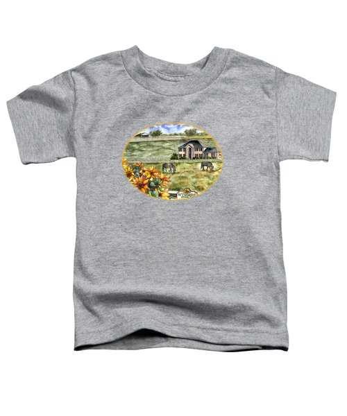 The Horse Ranch Toddler T-Shirt