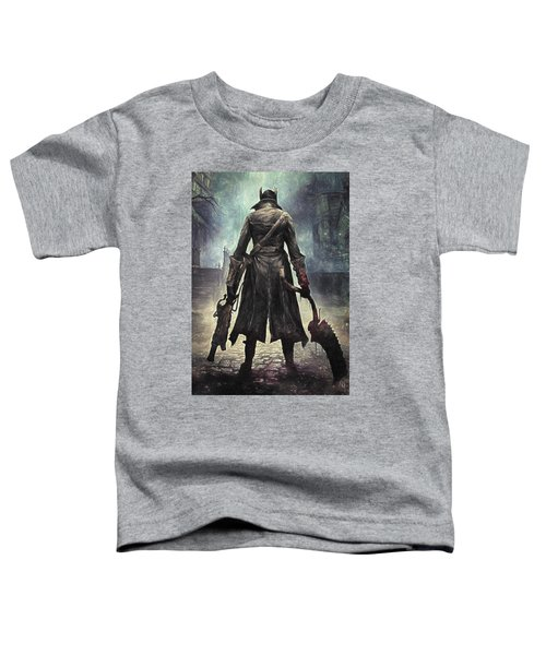 The Hunter - Bloodborne Toddler T-Shirt