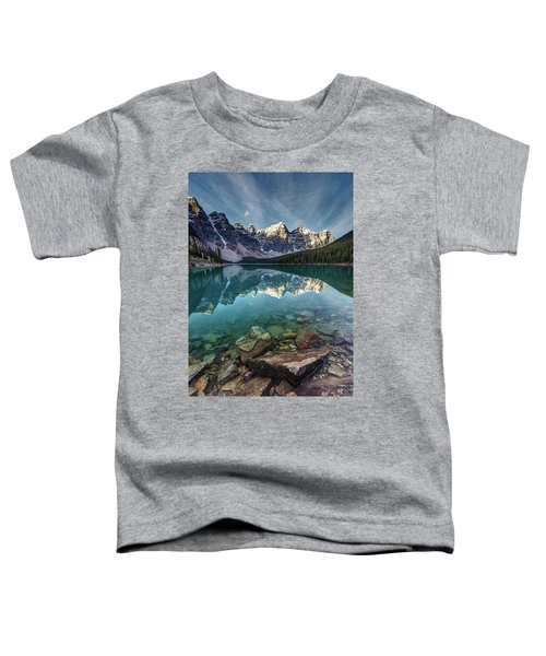 The Iconic Moraine Lake Toddler T-Shirt