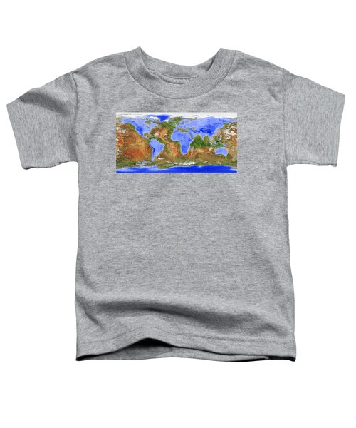 The Inverted World Toddler T-Shirt
