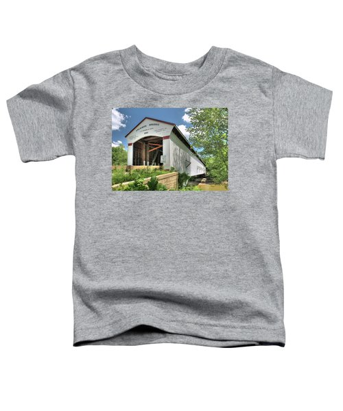 The Jackson Covered Bridge Toddler T-Shirt