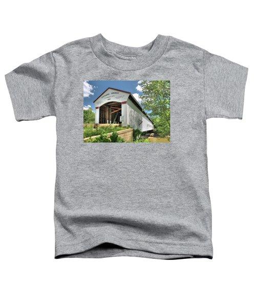 The Jackson Covered Bridge Toddler T-Shirt