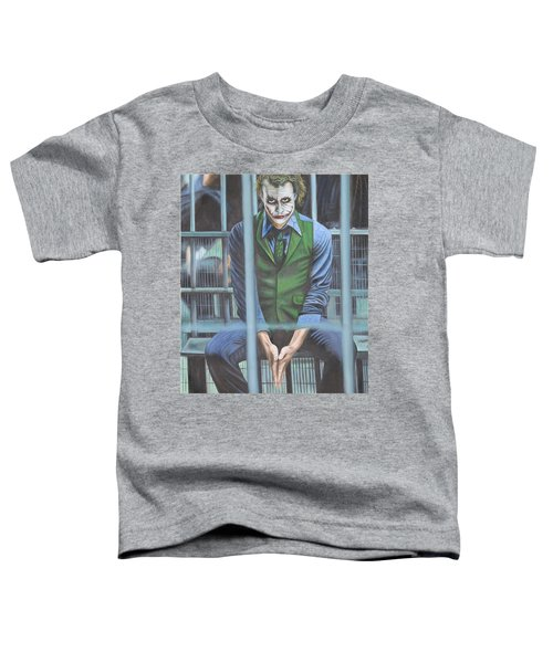 The Joker Toddler T-Shirt by Colm Hutchinson