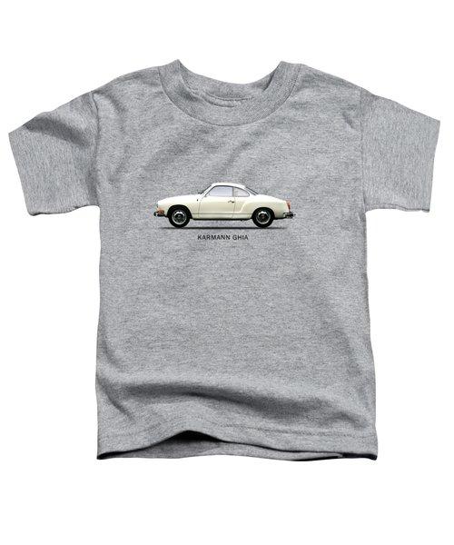 The Karmann Ghia Toddler T-Shirt by Mark Rogan
