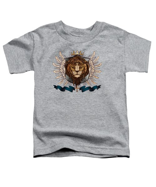The King's Heraldry II Toddler T-Shirt by April Moen