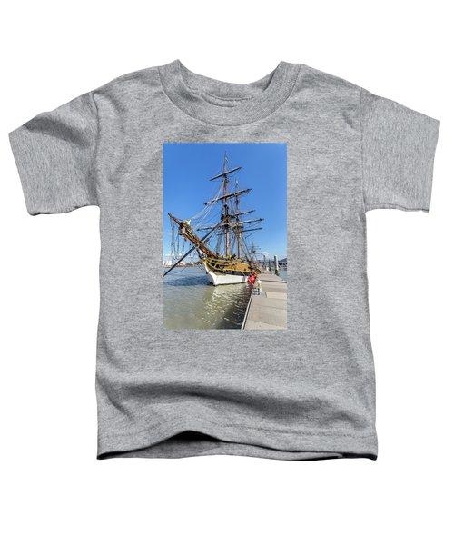 The Lady Washington Toddler T-Shirt