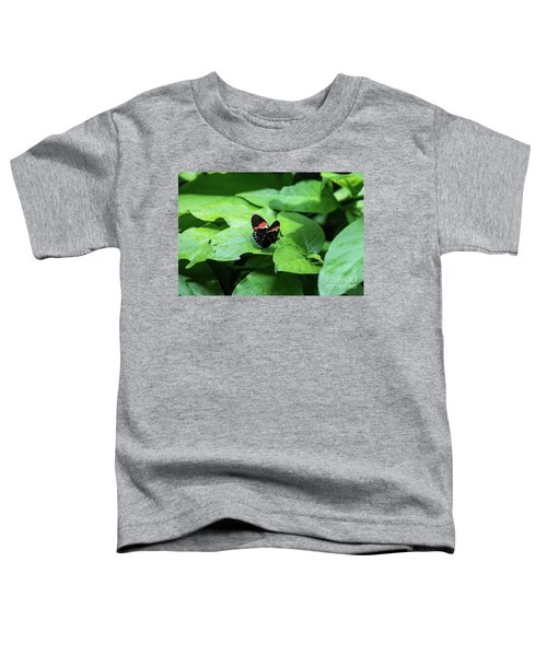 The Leaf Is My Plate Toddler T-Shirt
