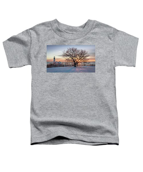 The Lighthouse And Tree Toddler T-Shirt