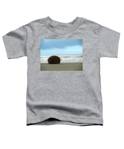 The Lonely Coconut Toddler T-Shirt