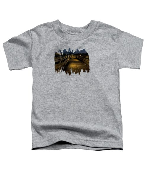 The Long Boardwalk Toddler T-Shirt