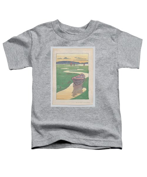 The Lost Boat , Arthur Wesley Dow Toddler T-Shirt