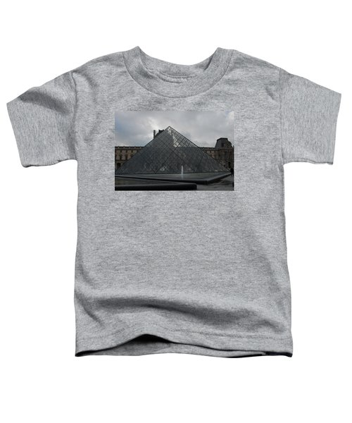 The Louvre And I.m. Pei Toddler T-Shirt