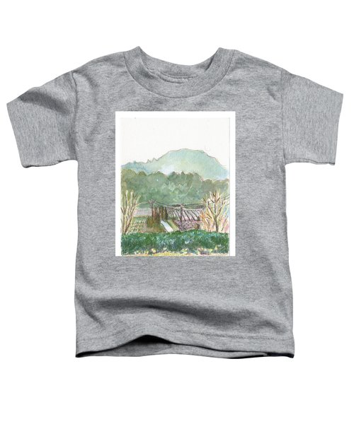 The Luberon Valley Toddler T-Shirt