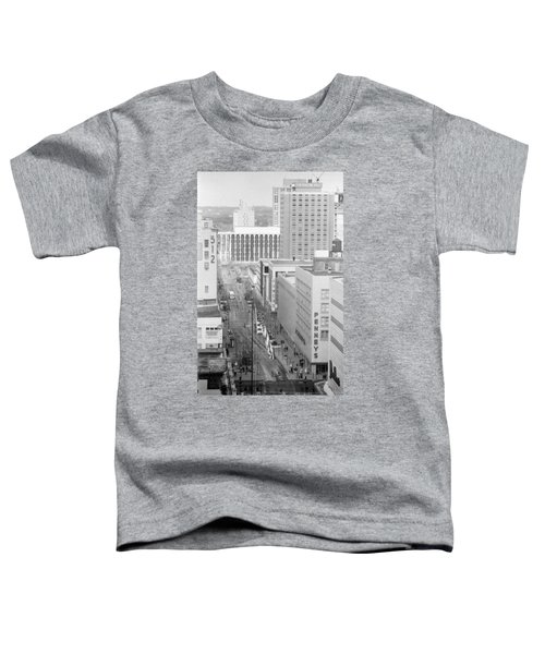The Mall From Dayton's 12th Floor Toddler T-Shirt