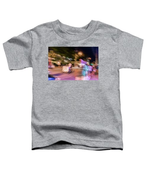 The Many Moods Of Duval Street Toddler T-Shirt