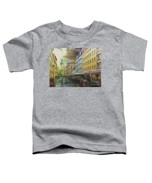 The Market In The Rain Toddler T-Shirt