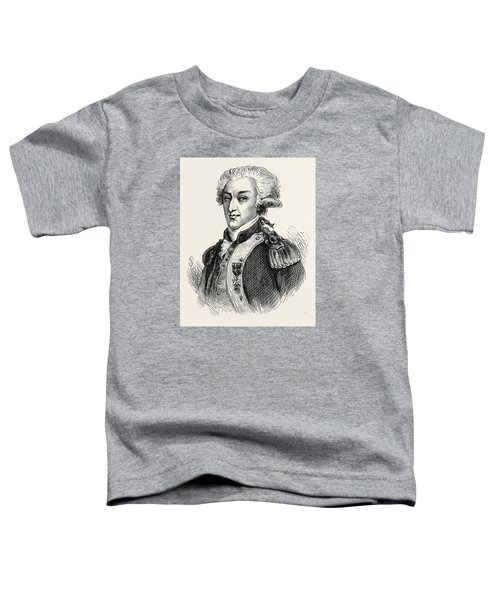 The Marquis De Lafayette Toddler T-Shirt