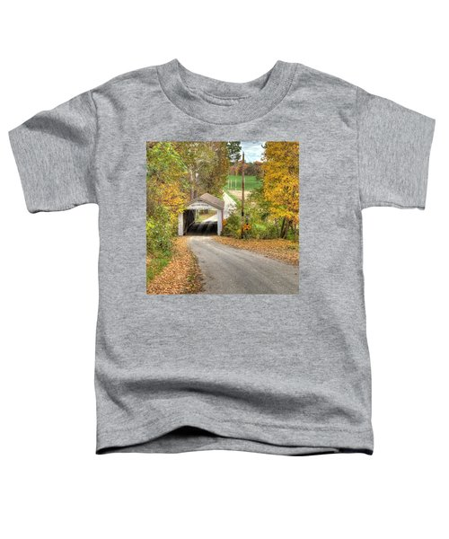 The Melcher Covered Bridge Toddler T-Shirt