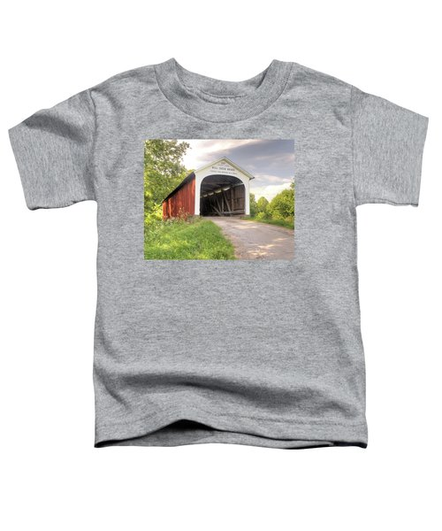 The Mill Creek Covered Bridge Toddler T-Shirt