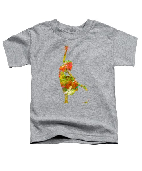 The Music Rushing Through Me Toddler T-Shirt by Nikki Smith