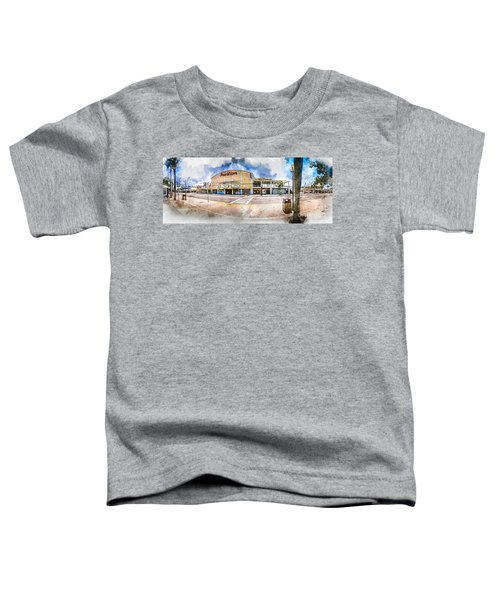 The Myrtle Beach Pavilion - Watercolor Toddler T-Shirt