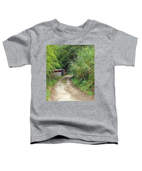 The Old Forest Road Toddler T-Shirt