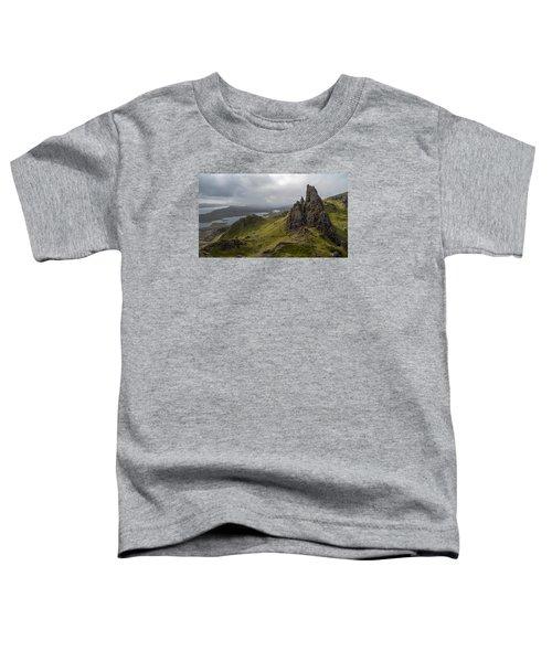 The Old Man Of Storr, Isle Of Skye, Uk Toddler T-Shirt by Dubi Roman