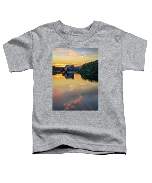 The Old Stone Church At Sunset Toddler T-Shirt