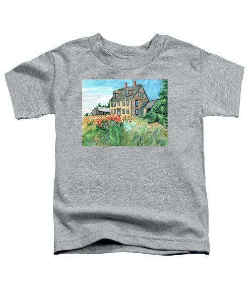 The Olson House With Poppies Toddler T-Shirt