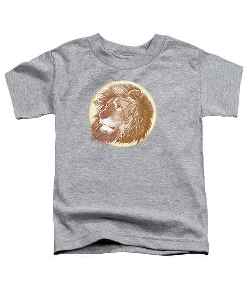 The One True King Toddler T-Shirt by J L Meadows