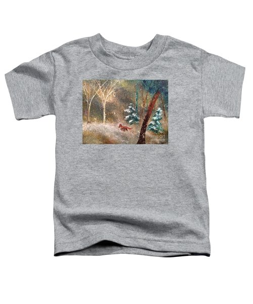 The Onion Snow Toddler T-Shirt